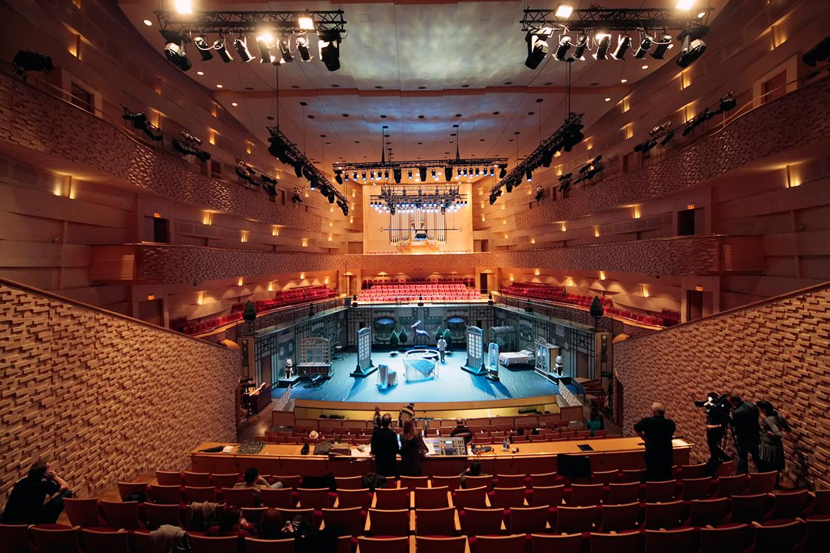 Sala de concertos do Mariínski.
