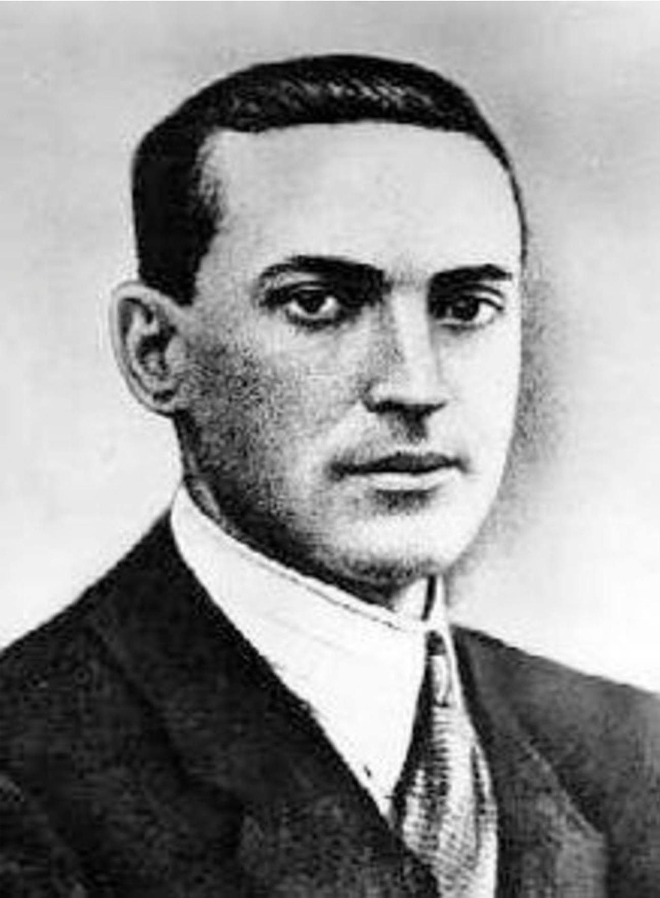 One of the founders of Soviet psychology, Lev Vygotsky.