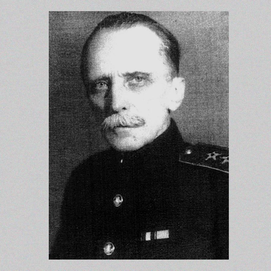 Александaр Њомиц, командант поморских снага Совјетске Русије.