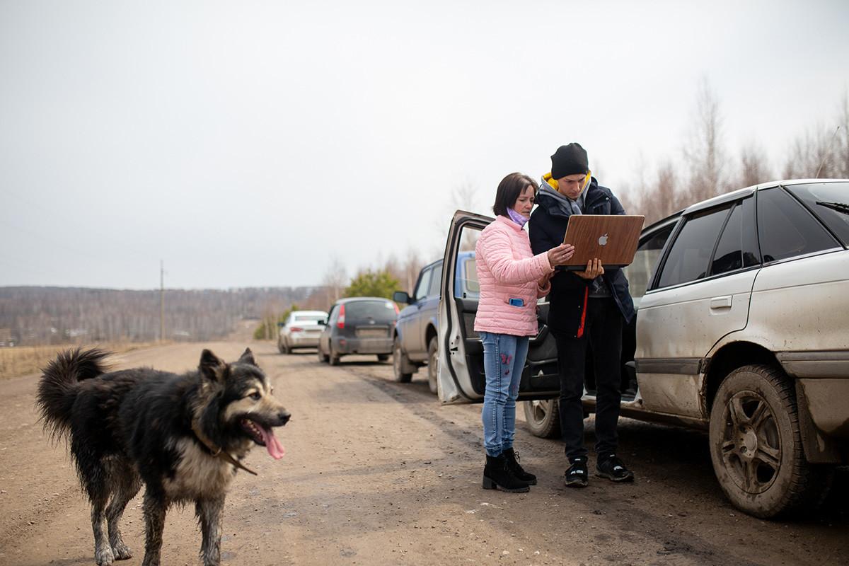 À Koulmetovo, en République de Bachkirie