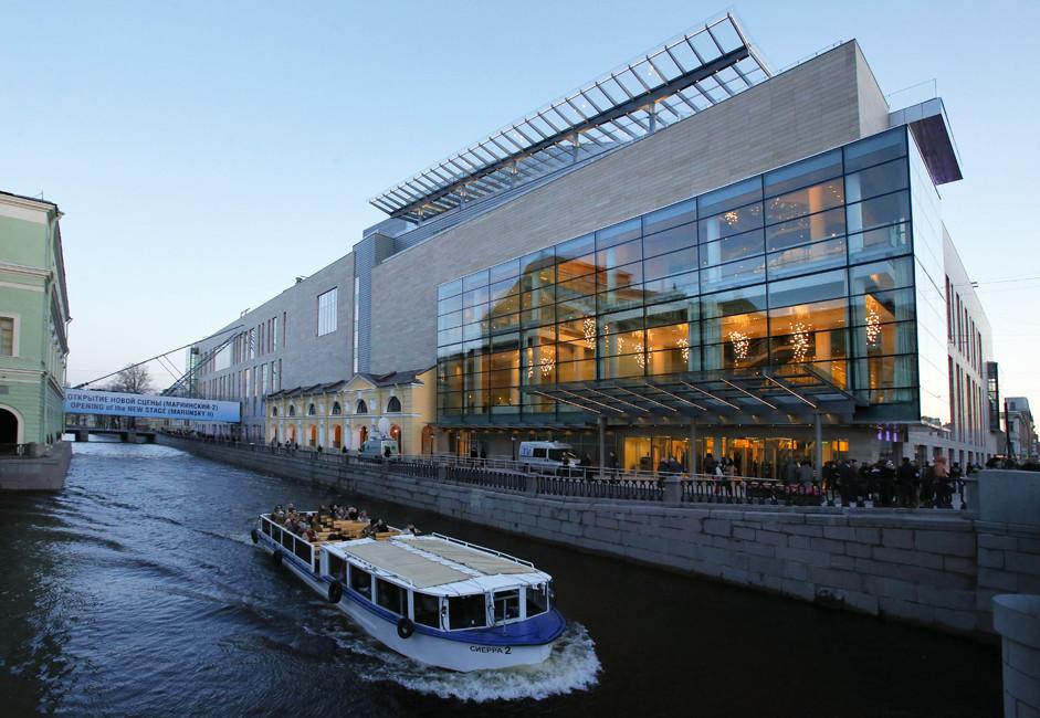 Novo prizorišče Marijinskega gledališča