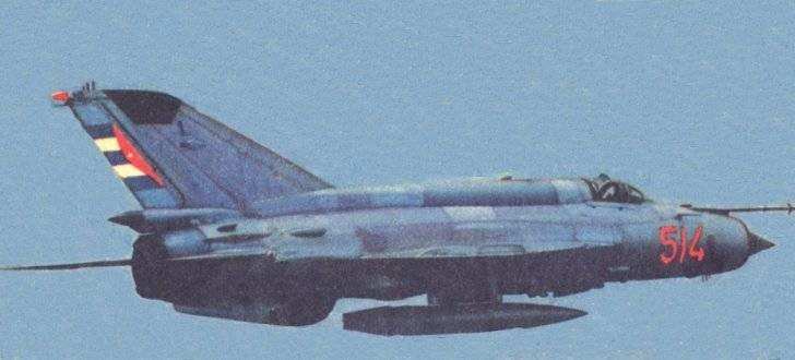 Kубански МиГ-21бис.