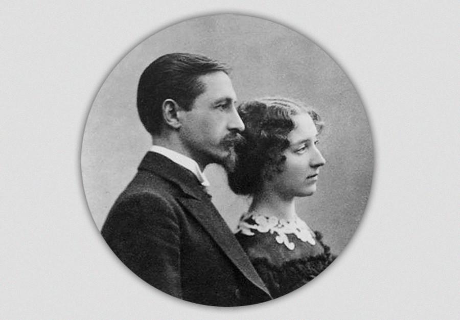 Iwan Bunin und Vera Muromzewa