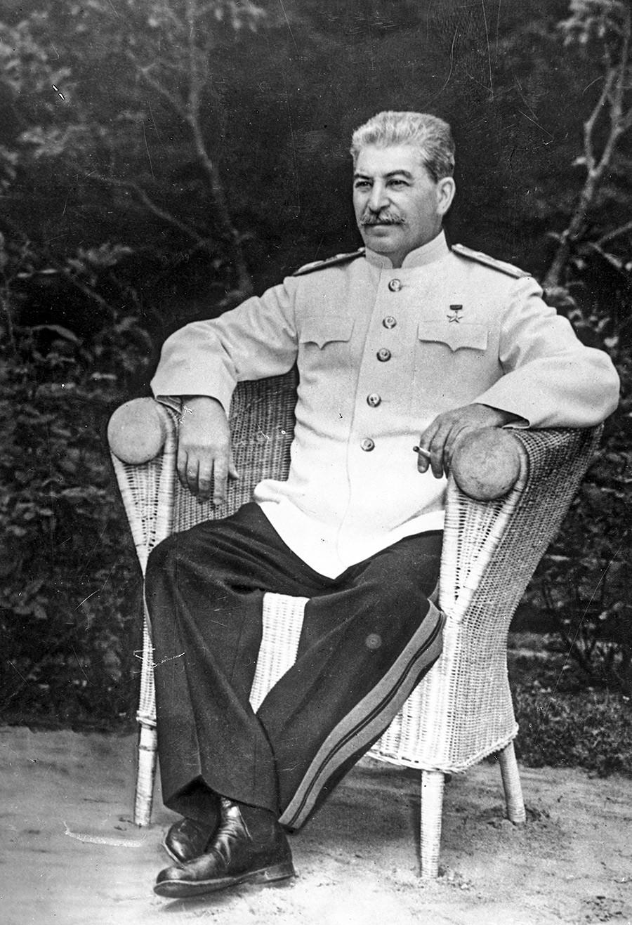 Генералисимус на Съветския съюз Йосиф Висарионович Сталин. 1949