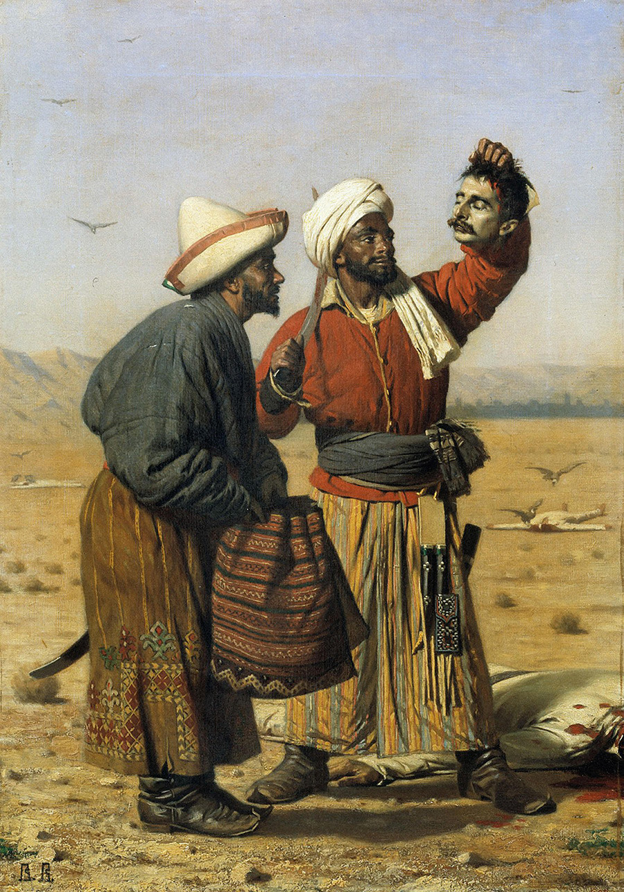 После удачи (Победители), 1868 г.
