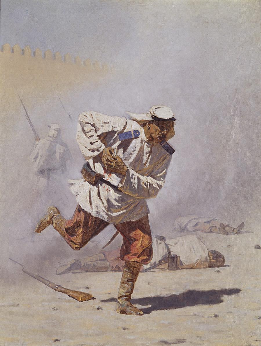 Смертельно раненый, 1873 г.