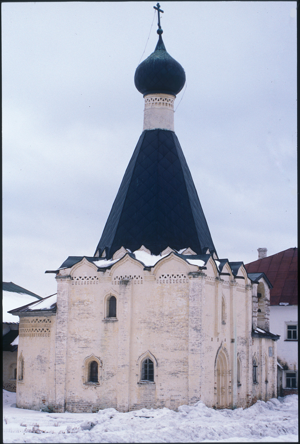 Church of St. Euthymius, north view. April 1, 2001
