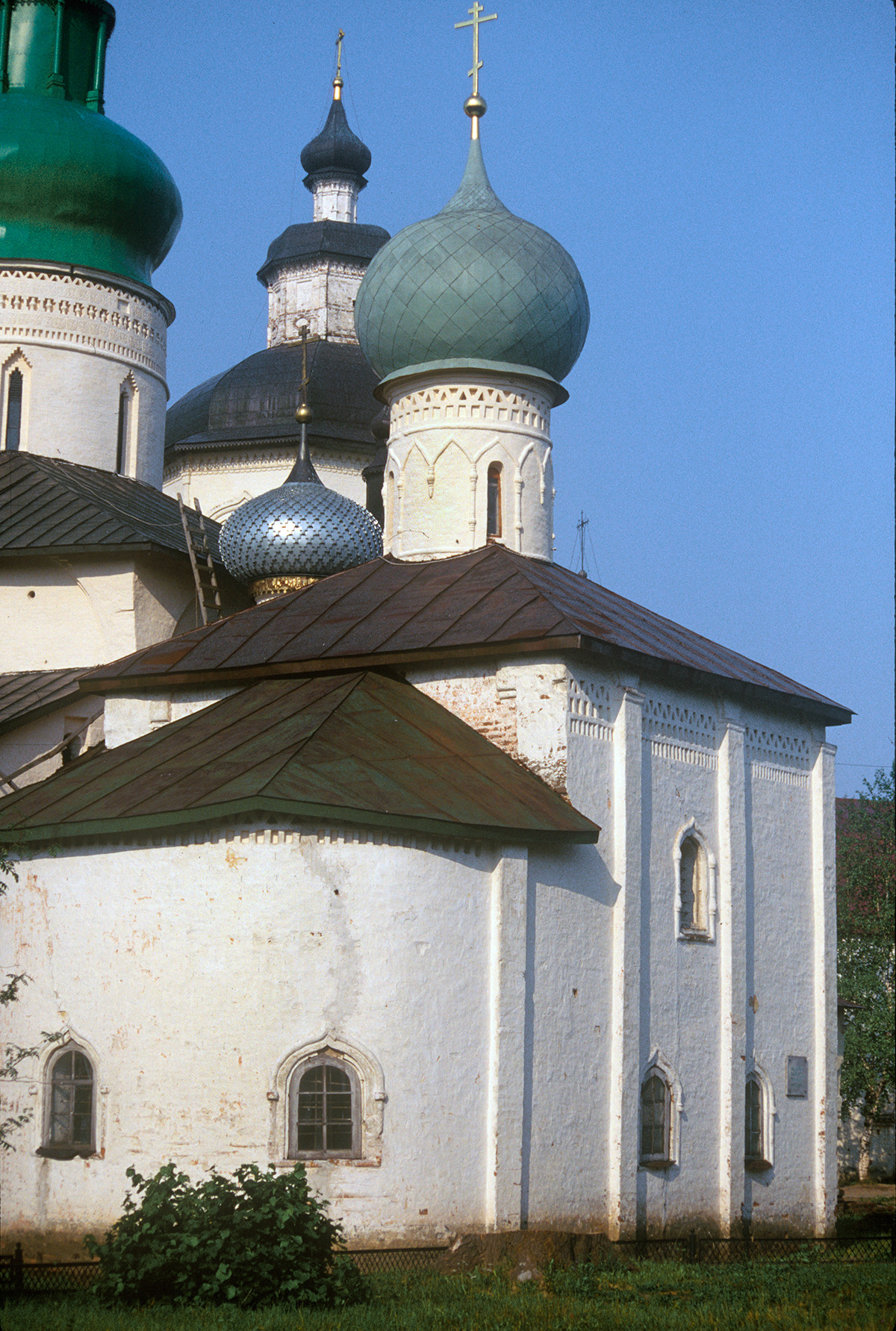 Church of St. Epiphanius, northeast view. July 15, 1999