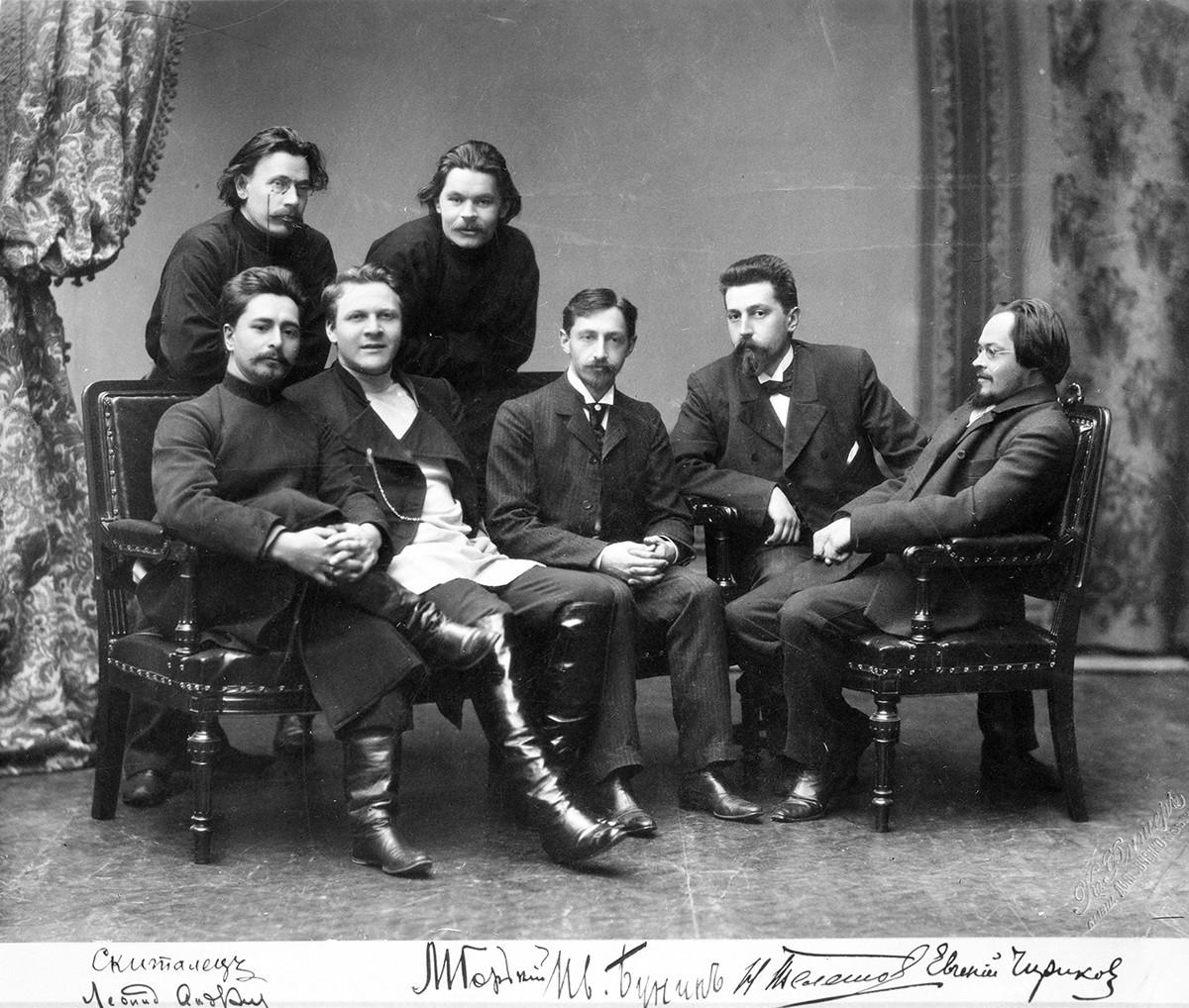 Scrittori russi del circolo letterario