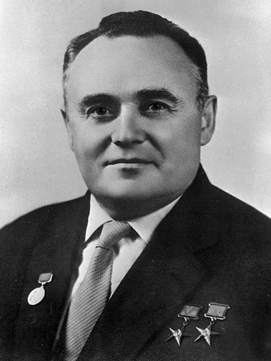 Sergej Koroljov, padre della cosmonautica sovietica; fu l'ideatore della maggior parte delle conquiste sovietiche nel settore dell'esplorazione spaziale