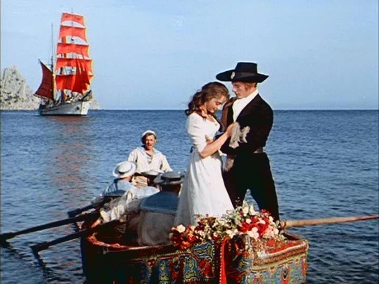 A still from 'Scarlet Sails' movie