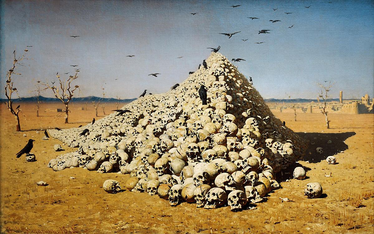 The Apotheosis of War, 1871.