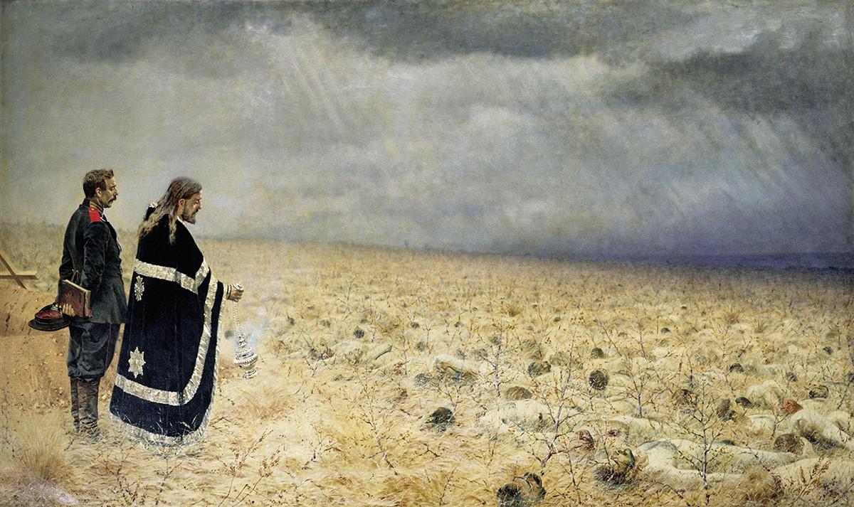 Defeated. Requiem, 1879.
