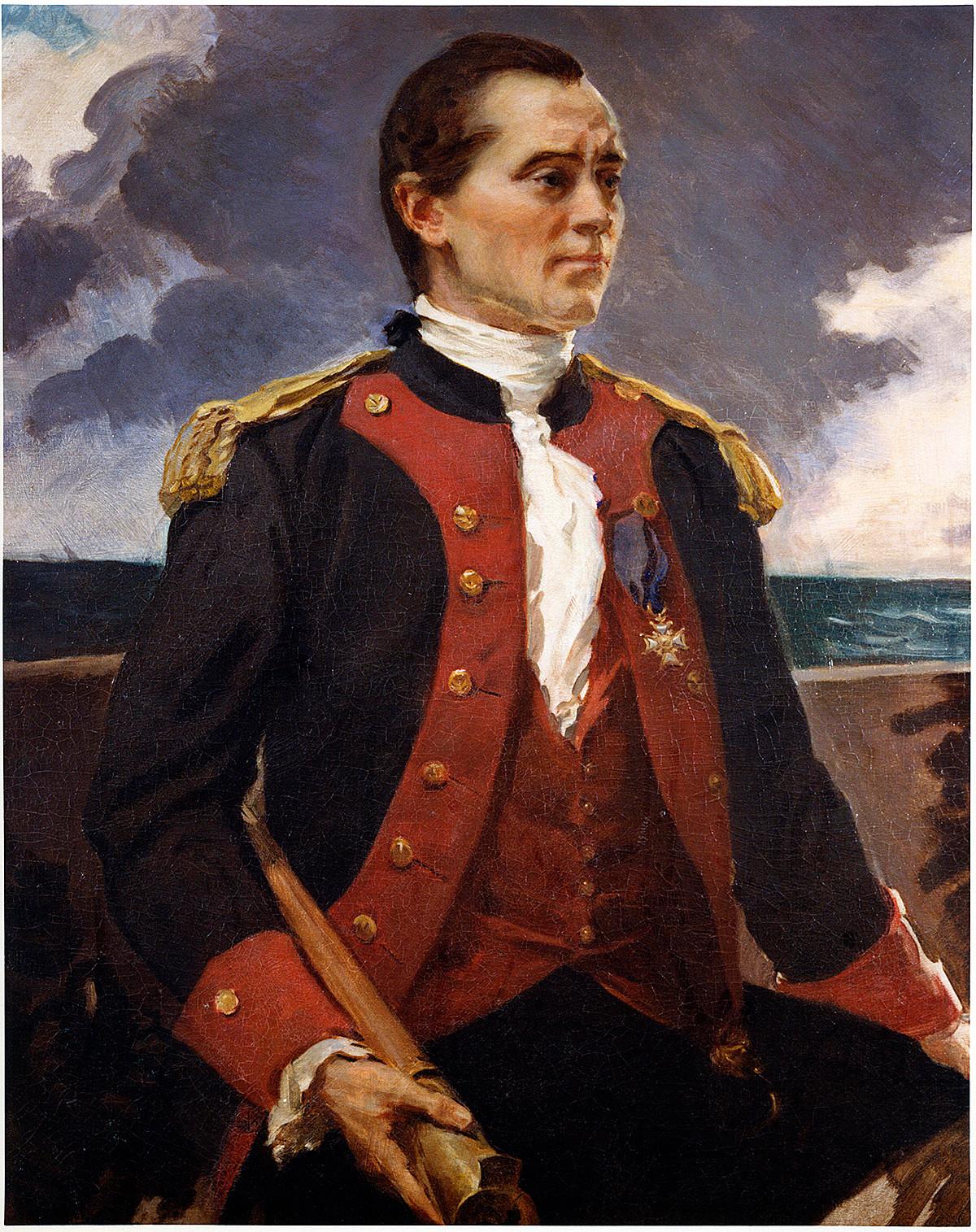 Portrait of Captain John Paul Jones by Cecilia Beaux
