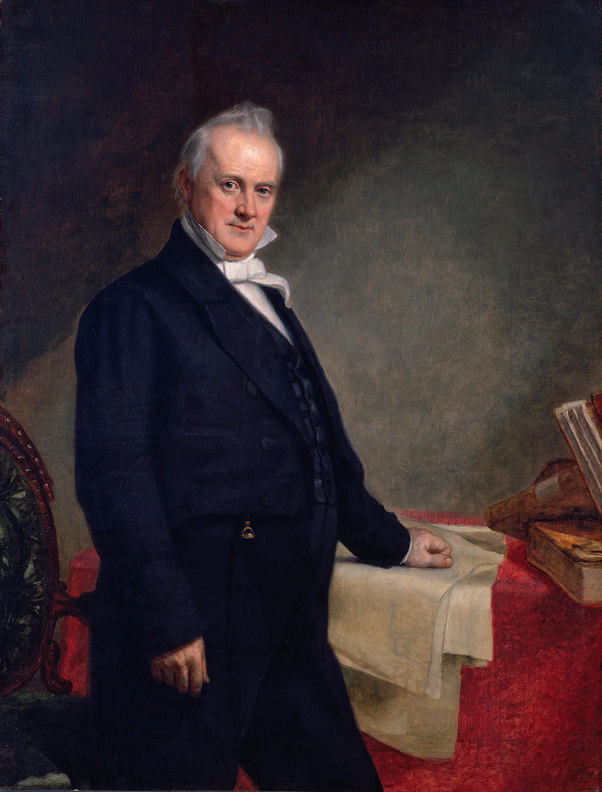 Portrait of James Buchanan by George Peter Alexander Healy