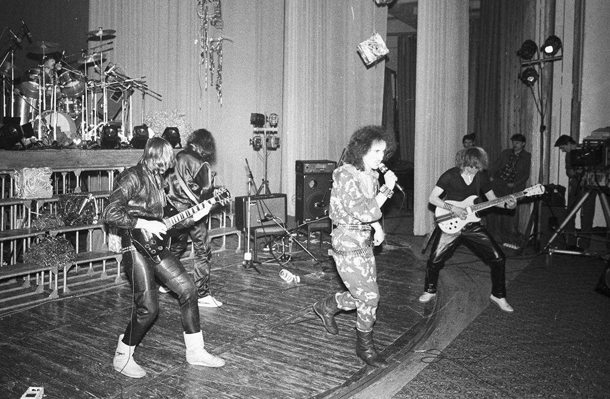 À Moscou, en 1987