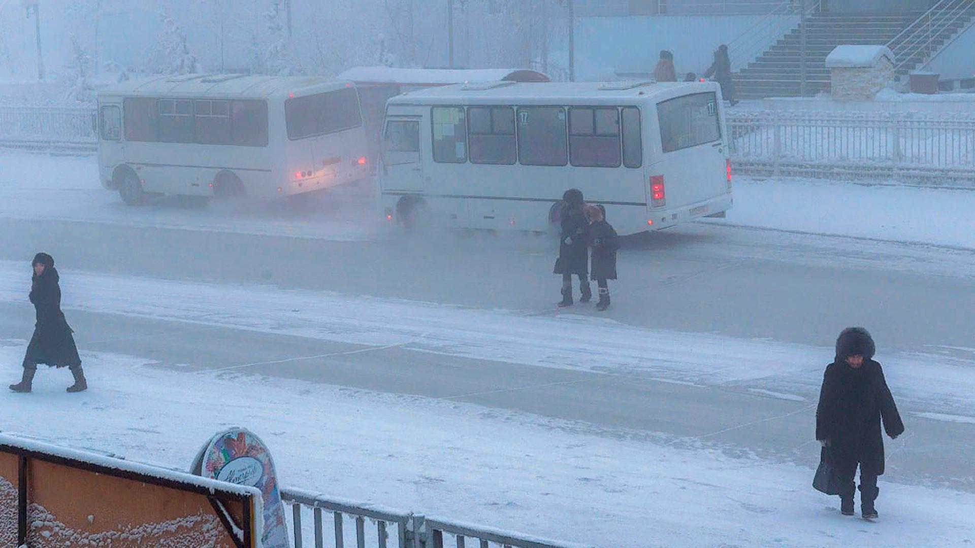 Autobus a Yakutsk
