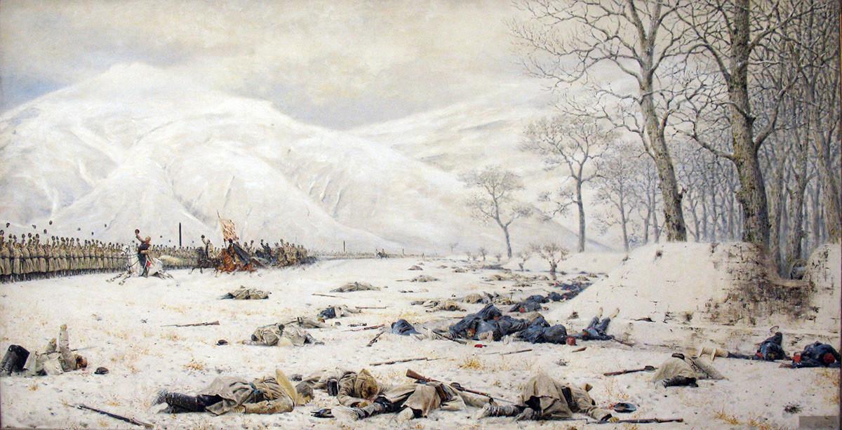 Skobelev a Shipka (Battaglia del Passo di Shipka)