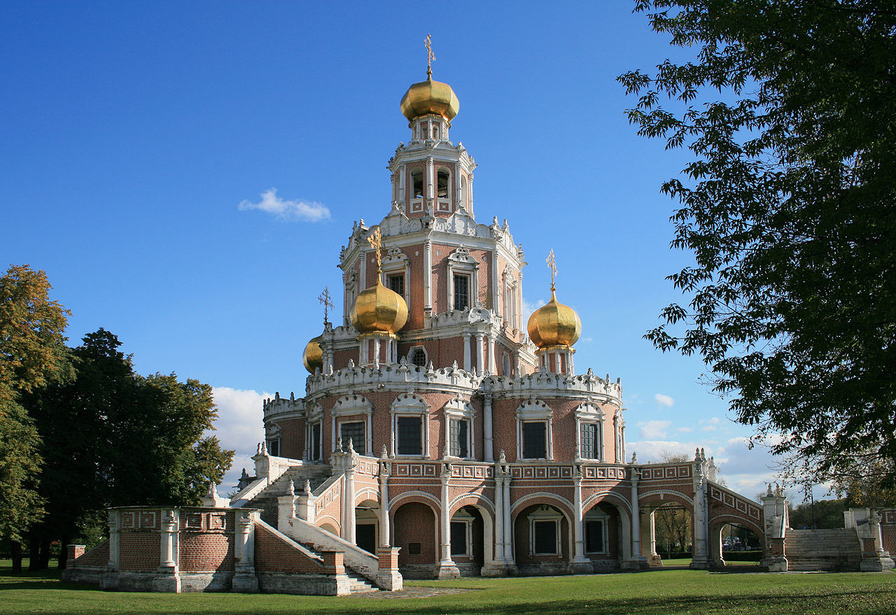 Church of the Protection of the Theotokos in Fili, 1690-1694, Moscow