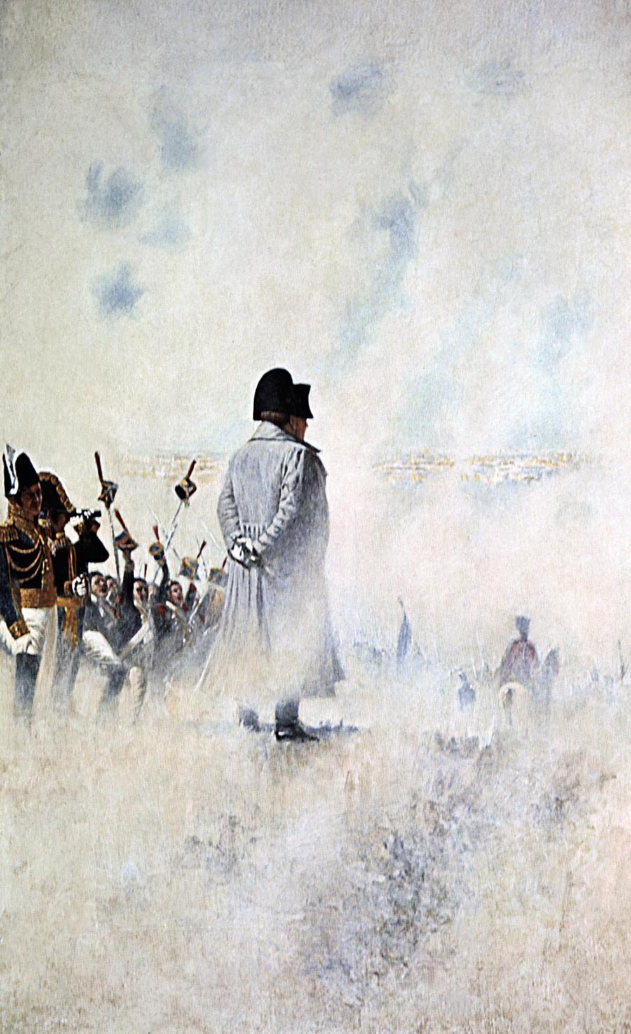 Василий Верещагин, Наполеон край до Москва, в очакване на болярска депутация