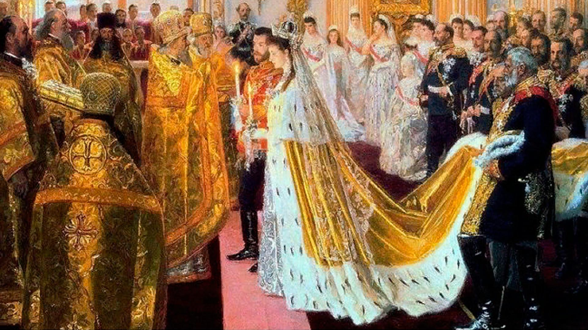Сватбата на Николай II и Александра Фьодоровна
