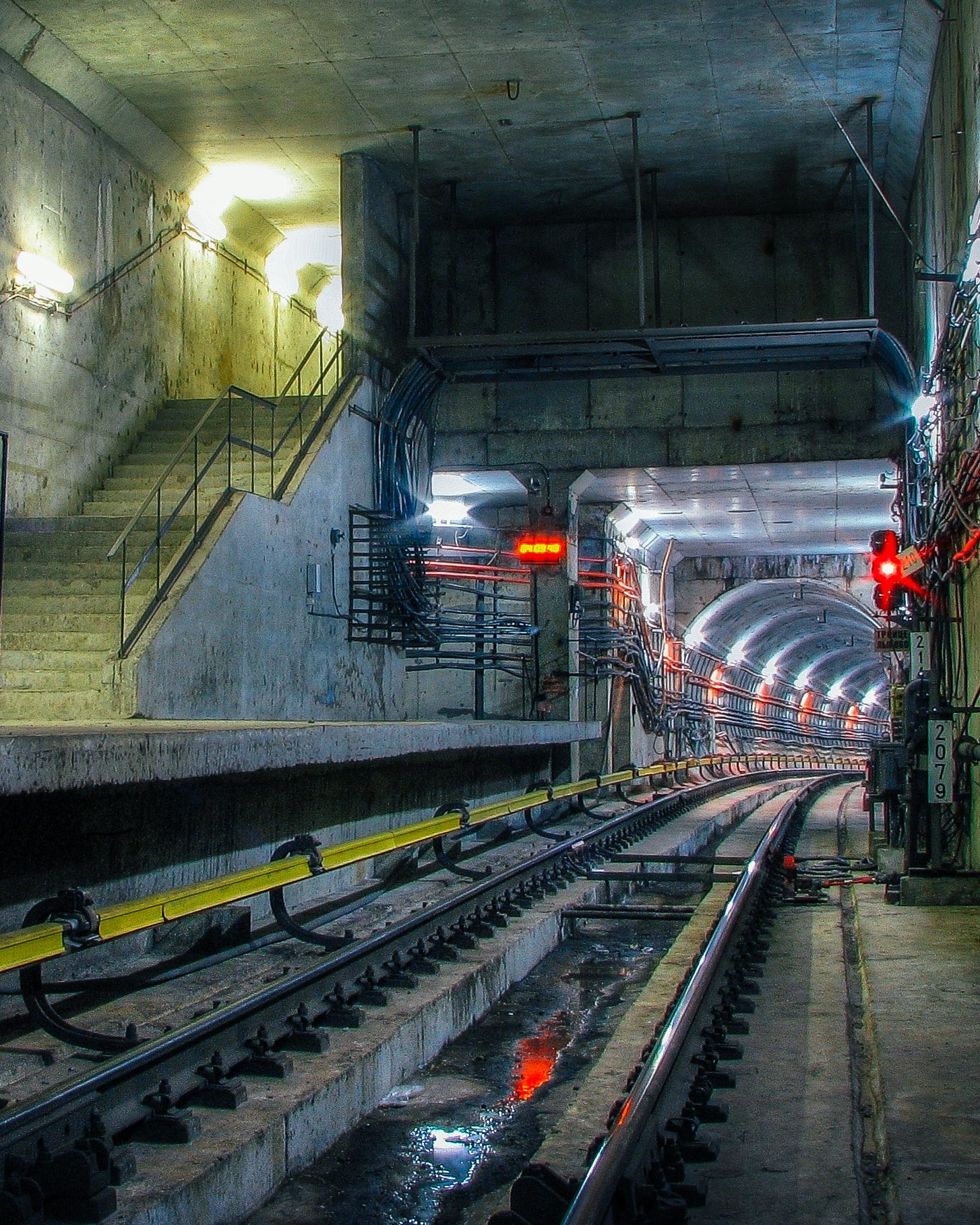 Con i suoi 26 metri di lunghezza, la piattaforma della fermata