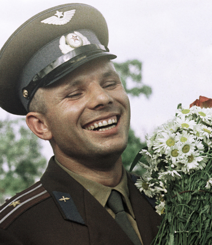 Der sowjetische Kosmonaut Juri Gagarin