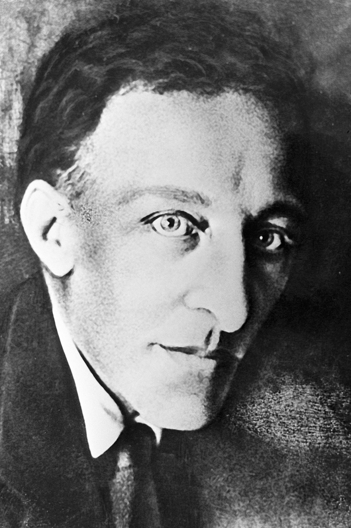 アレクサンドル・ブローク、1920年