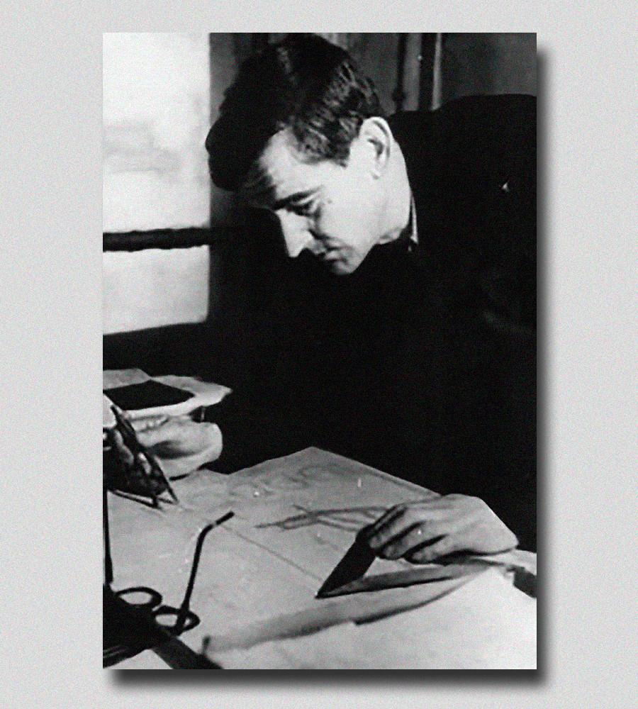 Gustav Beckman, the constructor of the Novyi Port fridge