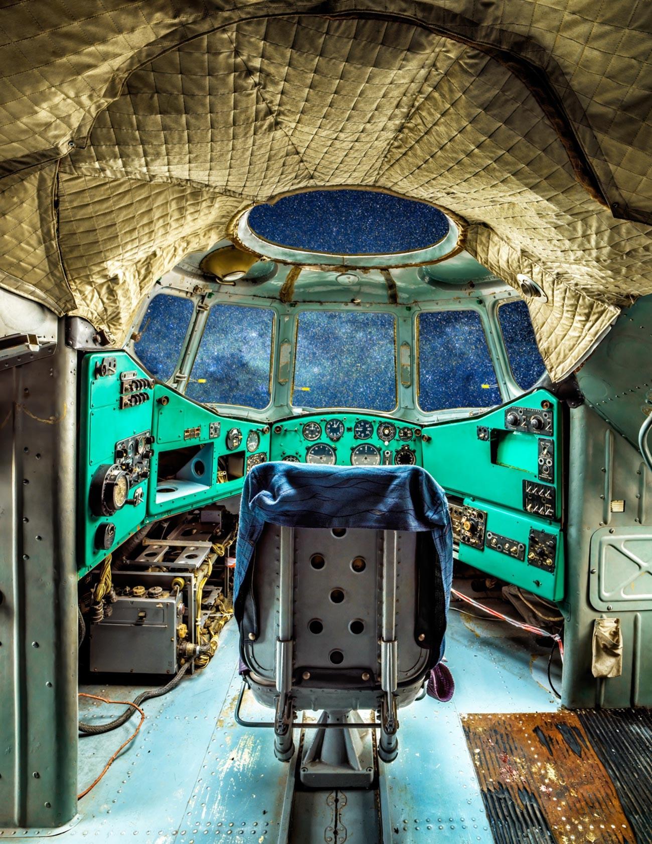 Sowjetischer Hubschrauber Mil V-12, der größte jemals gebaute