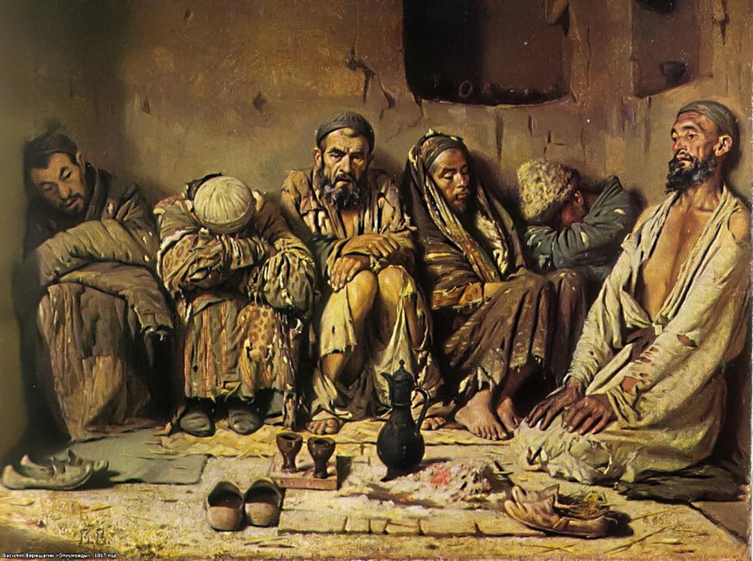 Jedci opija, 1868