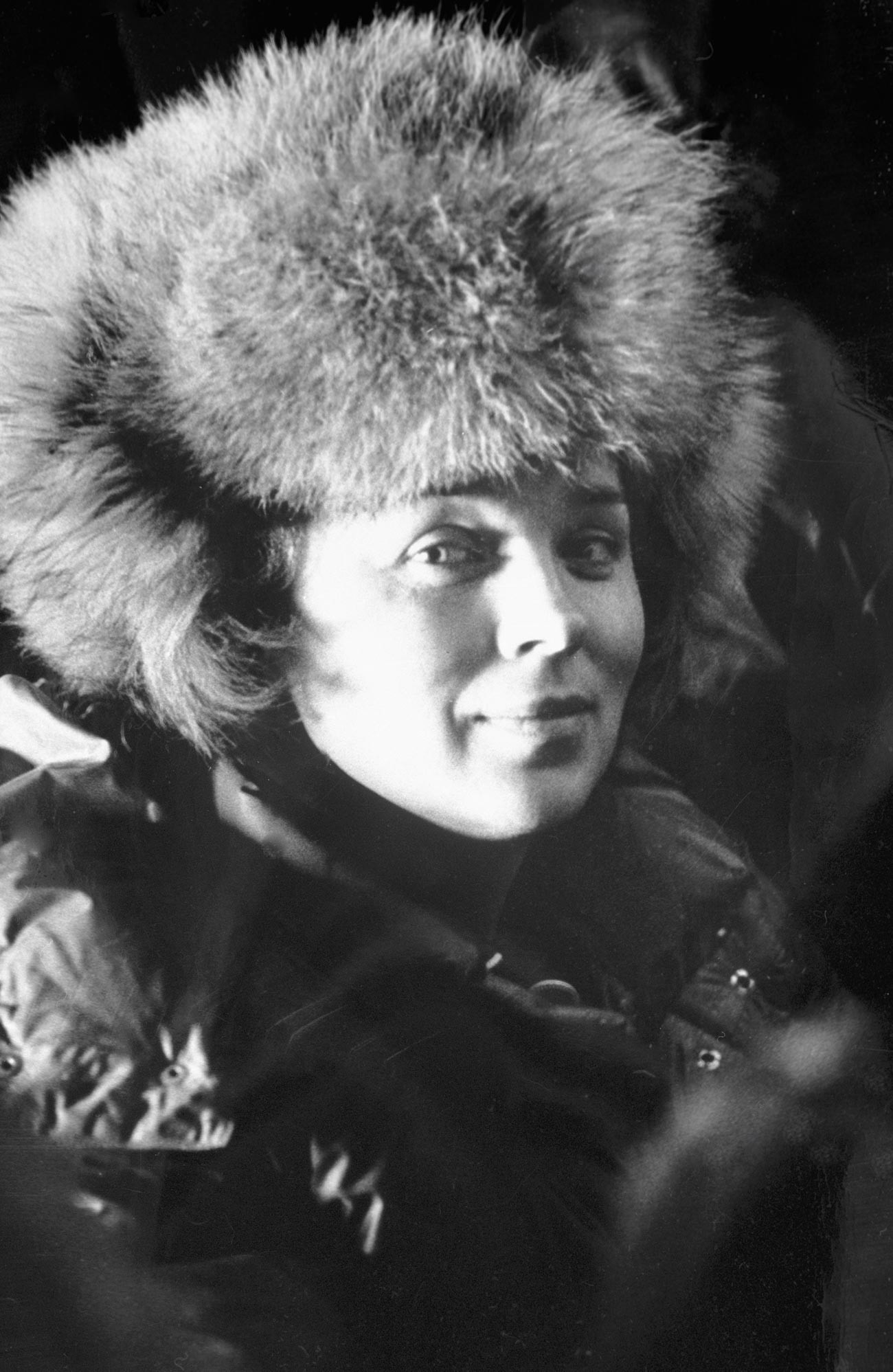 Valentina Kouznetsova, capitaine de l'équipe soviétique féminine Metelitsa