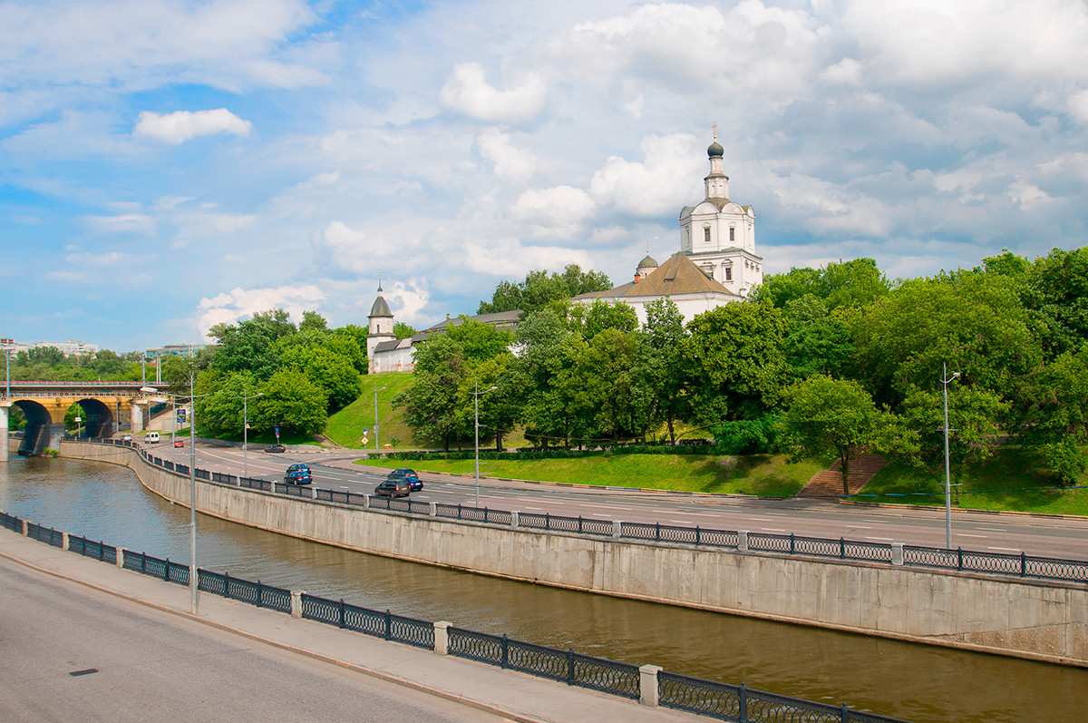 Das Andronikow-Kloster in Moskau.