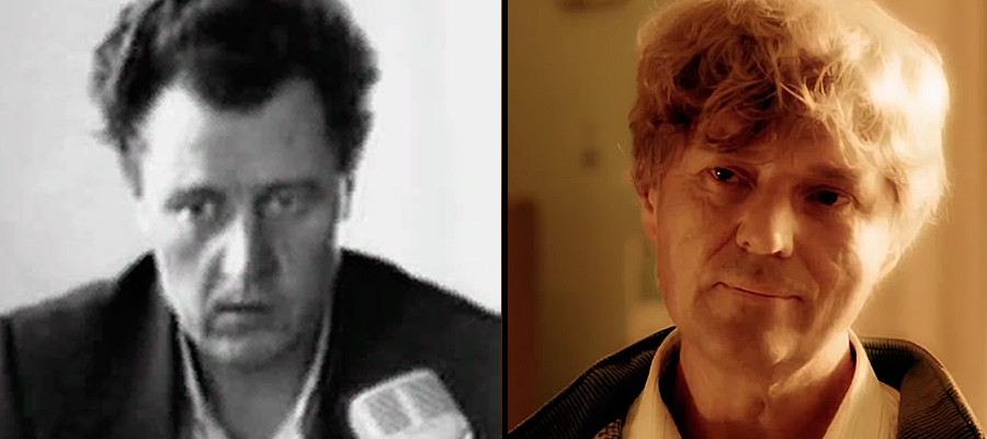 Left: maniac Anatoly Slivko, right his prototype in the TV series Method