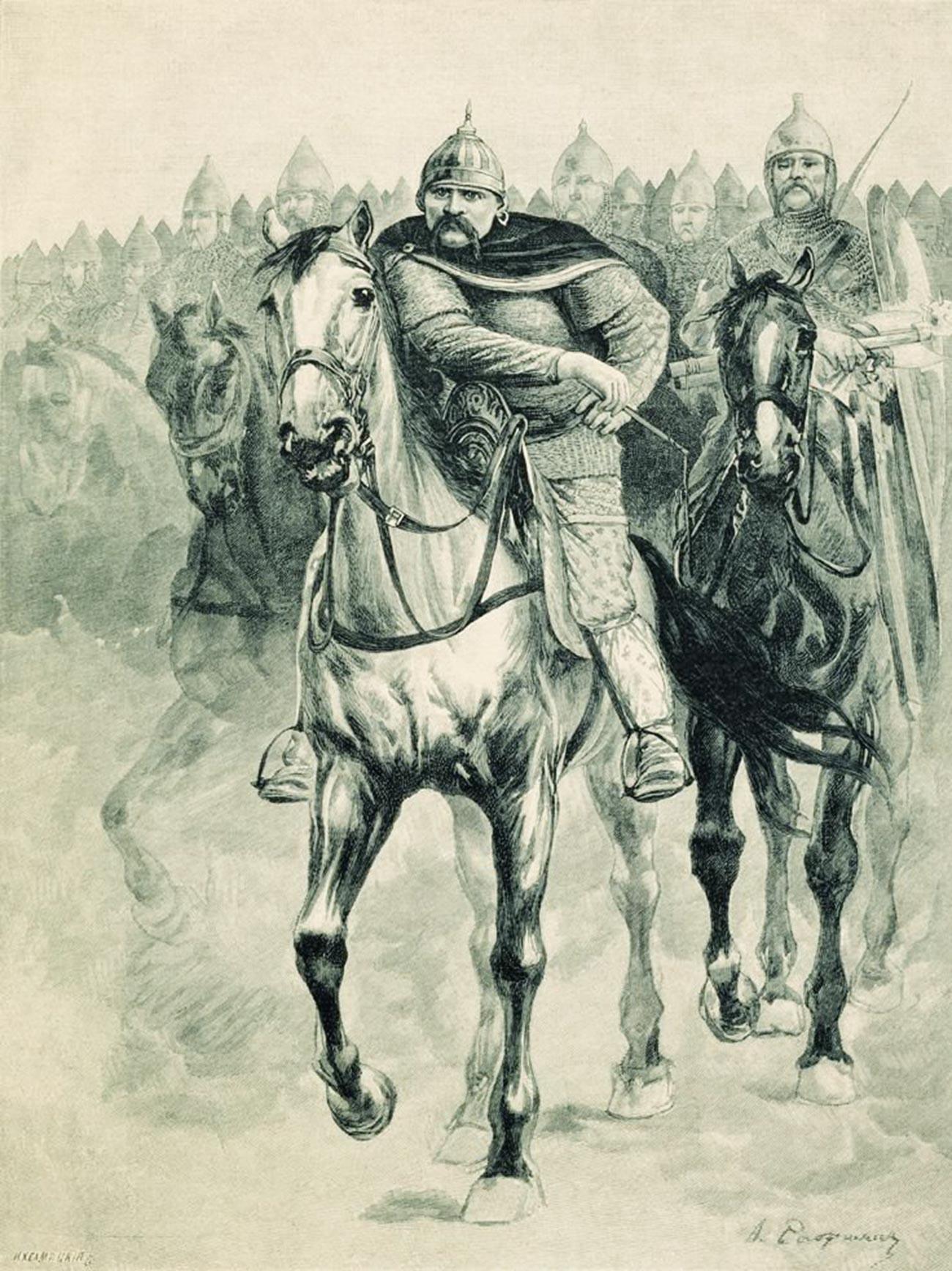 """""""Волга Всеславевич"""", 1895 година"""