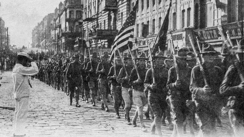Американската армия във Владивосток