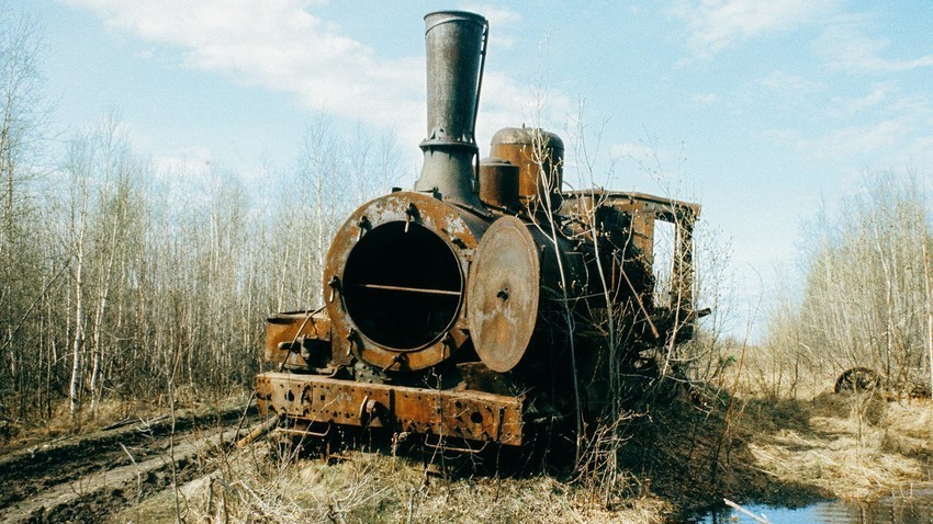 Ferrovia abandonada
