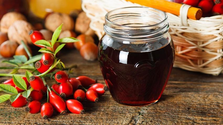 "You'll be singing, ""It's raining rose hip jam!"" in the kitchen this weekend!"