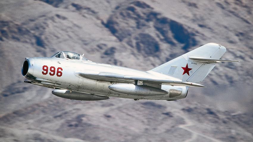 MiG-15, caça da URSS que participou da Guerra da Coreia