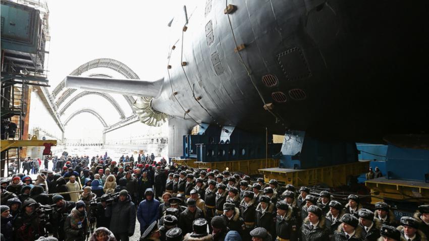 """Атомната подводница """"Казан"""""""