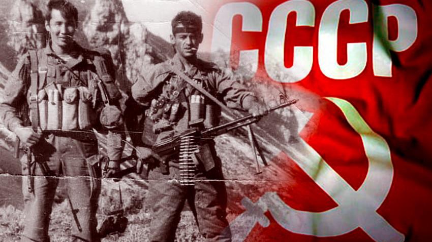 Илустрација за текст: припадници маневарске десантно-јуришне групе (дшмг) КГБ СССР