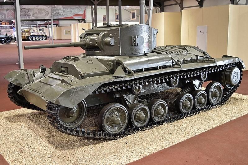 Tanque Valentine II en el museo de tanques de Kubinka. 2017