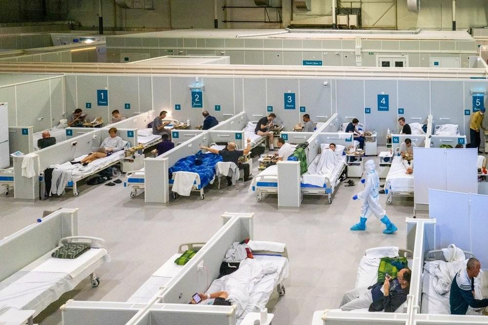 Център за болни с коронавирус в лека форма в конгресно-изложбения център