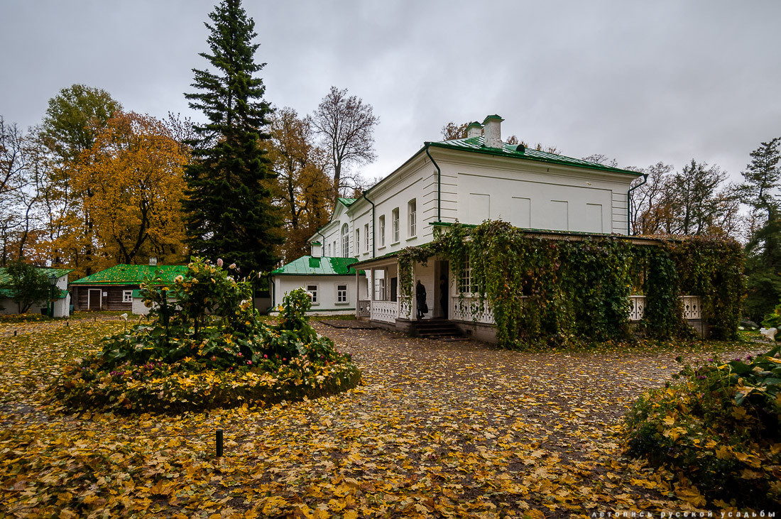 Tolstoy's house in Yasnaya Polyana