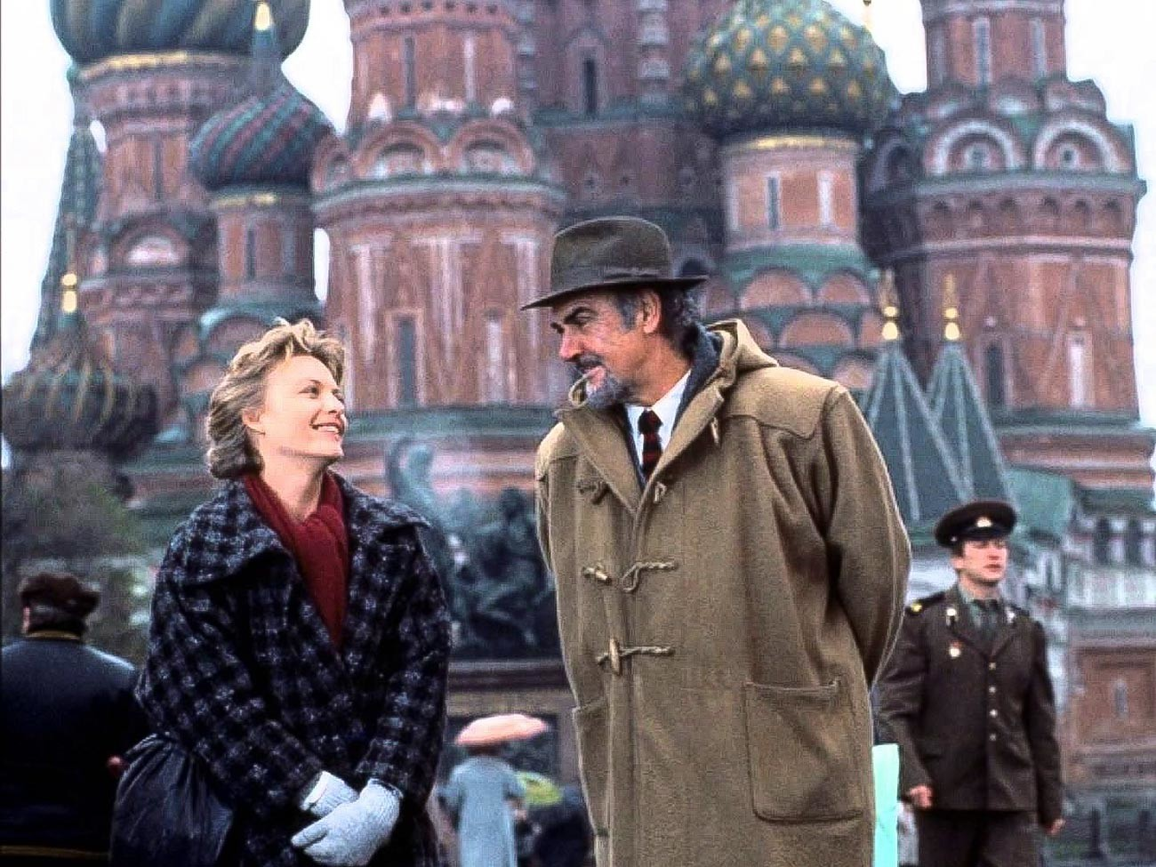 Michelle Pfeiffer and Sean Connery starring in 'The Russia House'