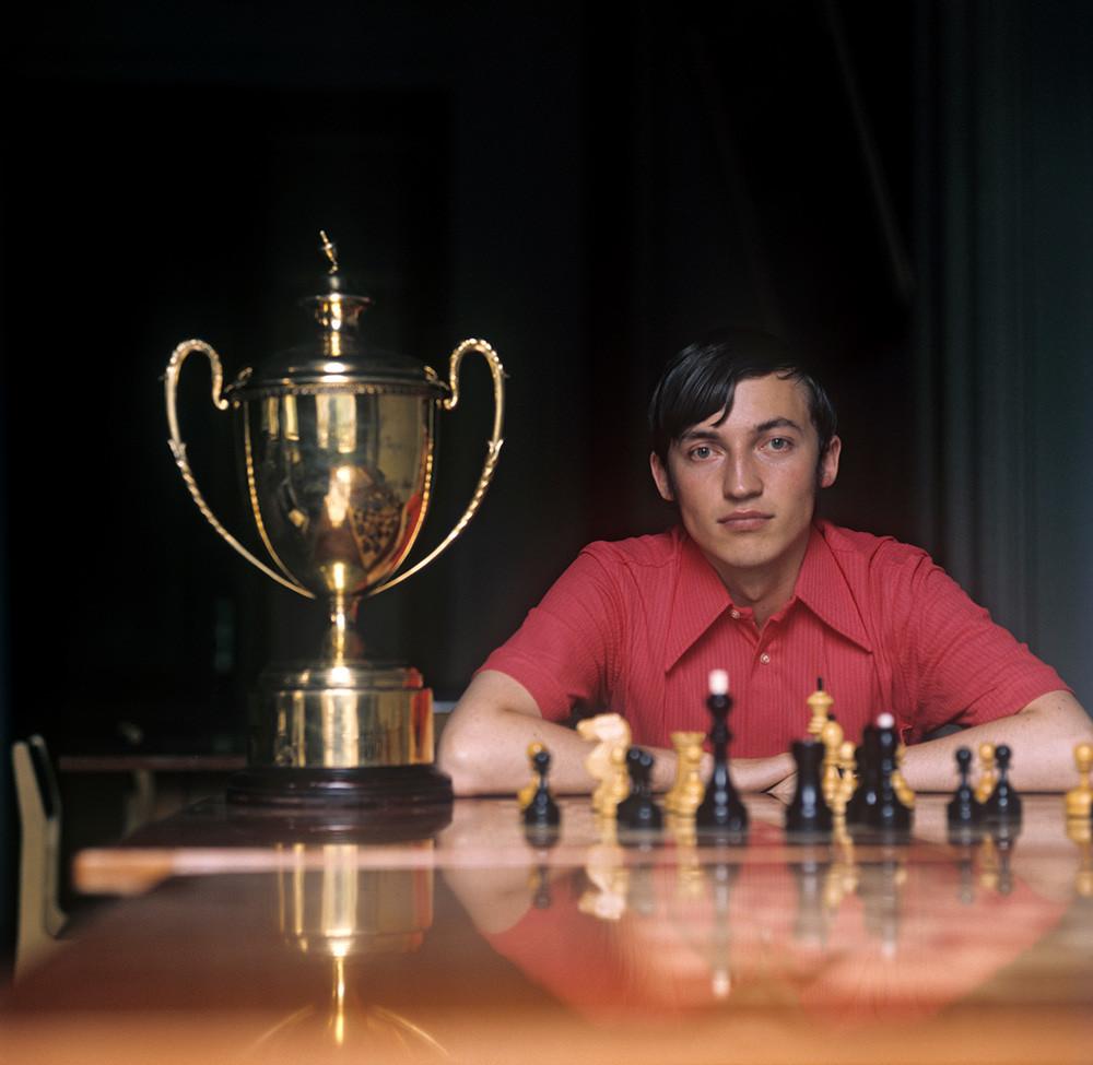 Grandmaster Anatoly Karpov.