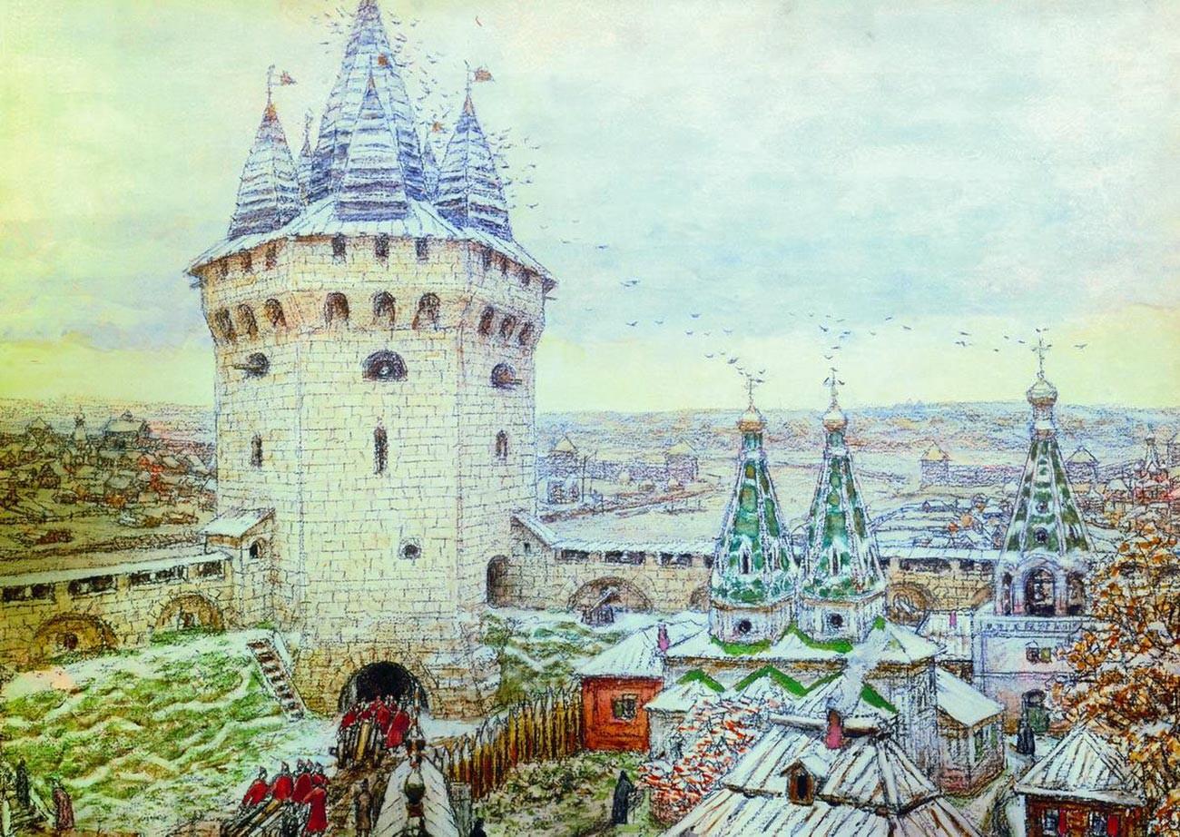 ベールイゴロド(白い都市)の塔