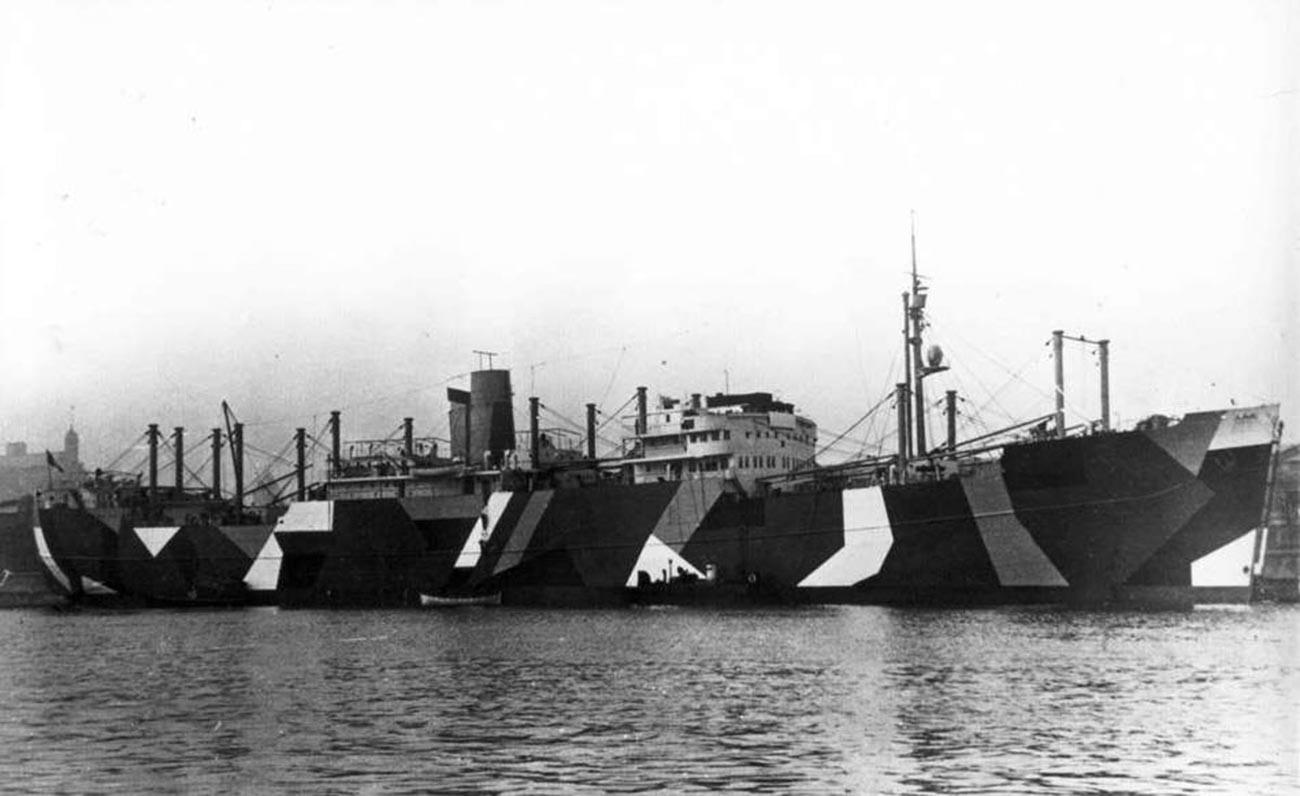 Le navire à moteur Seeburg