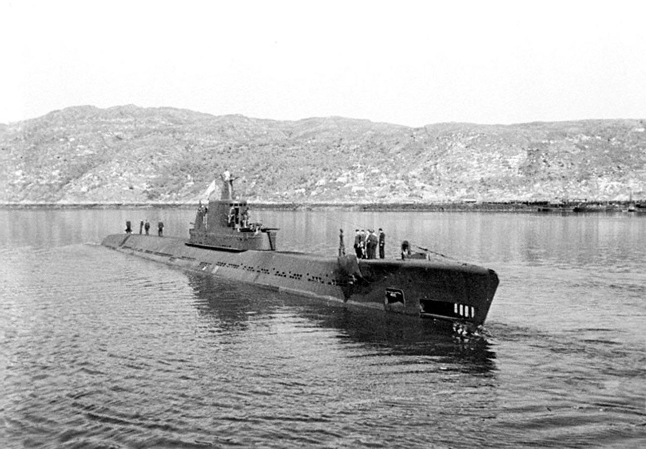 Le sous-marine soviétique K-1