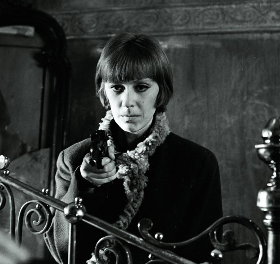 Vasilyeva in 'Diamonds for the Dictatorship of the Proletariat'.
